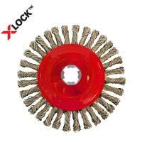 Diablo X-Lock Stringer Bead Twist Wheel, Stainless Steel, 4-In.