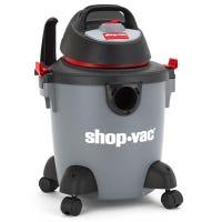 Portable Wet-Dry Vacuum, 2 Peak HP, 5-Gallons
