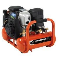 Pontoon Air Compressor, Honda GC160 OHC Motor, Oil-Free, Direct-Drive, 4-Gallon