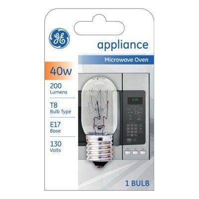 Microwave Light Bulb, Soft White Light, 40-Watts