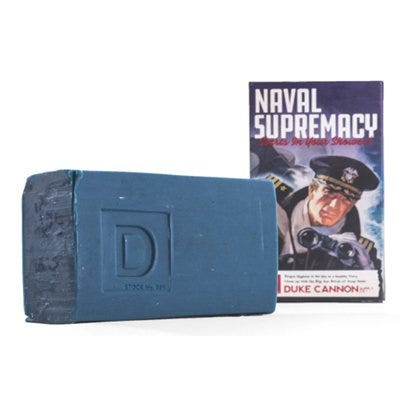 Big Ass Brick of Soap, Naval Supremacy, Fresh Water, 10-oz.