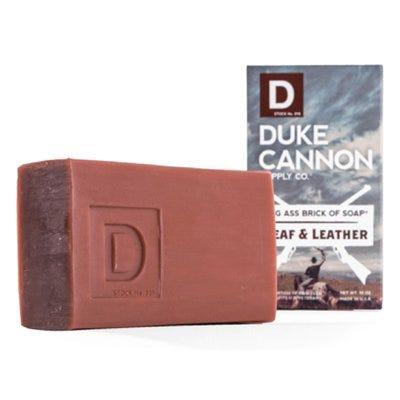 Big Ass Brick of Soap, Leaf & Leather, Amber & Woodsy, 10-oz.