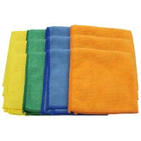 Cleaning Cloths, Mircofiber, 12 x 12-In., 12-Pk.