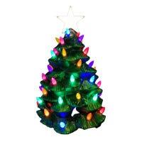 LED Outdoor Nostalgic Tree, Tree-Metallic Finish, 3-Ft.