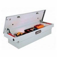 Crossover Truck Storage Box, Steel, Gear-Lock System, Fullsize