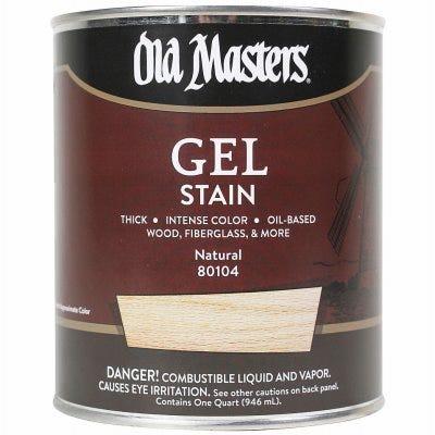 Gel Stain, Oil-Based, Natural, 1-Qt.