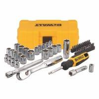 Mechanics Tool Set, SAE & Metric, 50-Pc