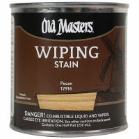 Wiping Stain, Oil-Based, Pecan, 1/2-Pt.