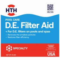 Filter Aid, For D.E. Filters, 10-Lb.