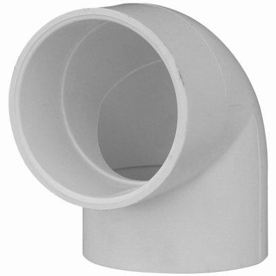Pipe Fitting, Schedule 40 PVC  Reducing Ell, 90-Degree, White, 3/4 x 1/2-In.