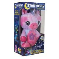Dream Lites Huggable Night Light, Unicorn, Starry Light Projection, Pink