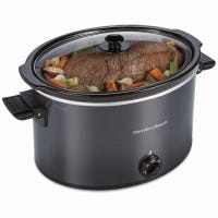Slow Cooker, Oval, 10-Qt., XL Capacity
