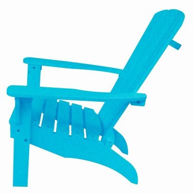 Adirondack Chair, All Weather Poly, Turquoise