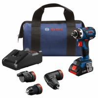 Flexiclick 5-In-1 Drill & Driver System, Brushless Motor, Bluetooth Connectivity, 18-Volt Lithium-Ion Battery