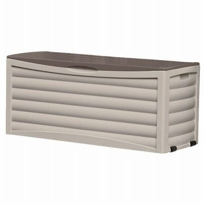 Deck Storage Box, Portable, 103-Gallon