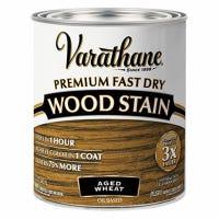 Fast Dry Premium Wood Stain, Semi-Transparent, Aged Wheat, 1-Qt.