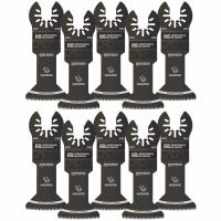One Fit Japanese Tooth Storm Titanium Hardwood Blade, For Oscillating Tool, 1-3/4-In., 10-Pk.