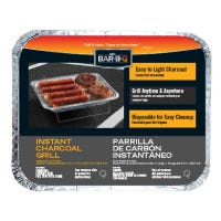 Instant Charcoal Grill, Disposable