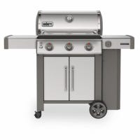 Genesis II S-315 3-Burner Stainless Steel LP Gas Grill