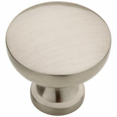 Lansford Cabinet Knob, Brushed Satin Nickel, 1-3/16-In. Round