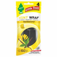 Vent Wrap Car Air Freshener,Vanillaroma Scent, 4-Pk.