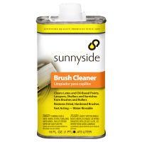 Brush Cleaner, Water-Rinsable, 1-Pt.