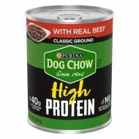 High Protein Dog Food, Turkey in Gravy, 13-oz. Can