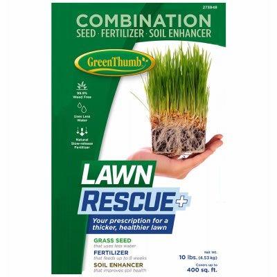 Lawn Rescue Plus Premium Grass Seed, 10-Lbs.