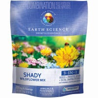 Shady Wildflower Mix, Covers 200 Sq. Ft., 2-Lbs.