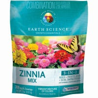 Zinnia Flower Seed Mix, Covers 200 Sq. Ft., 2-Lbs.