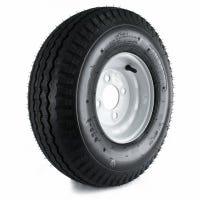 Loadstar Trailer Tire & 4-Hole Wheel (4/4), 570-8 LRB