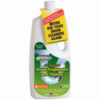 Drain Treatment and Cleaner, All-Natural, 32-oz.