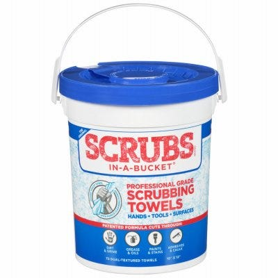 Rough Touch Cleaning Towels, Citrus Scent, 30-Ct.