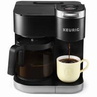 K-Duo Single Serve & Carafe Coffeemaker, Black