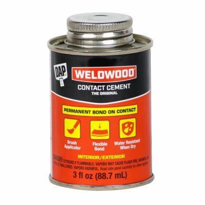 Weldwood Contact Cement, 3-oz.
