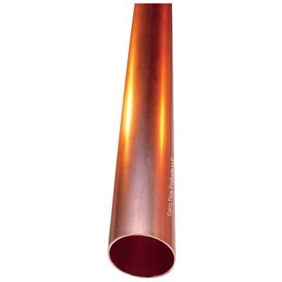 Image of Commercial Hard Copper Tube, Type L, 0.75-In. x 2-Ft.
