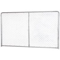 10 x 6-Ft. Dog Kennel Extension Panel, Silver Series