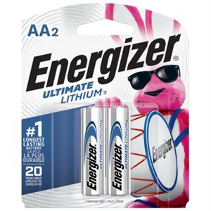 """Image of 2-Pack """"AA"""" 1.5V Lithium Battery"""