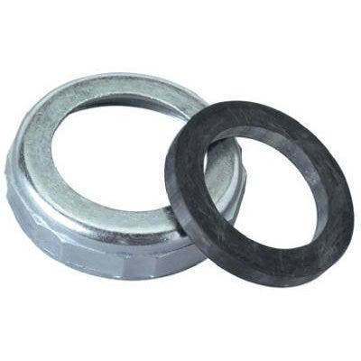 Slip Joint Reducing Nut & Rubber Washer, Chrome-Plated