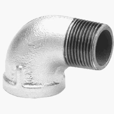 Image of 90 Degree, Galvanized, Street Elbow, 3/4-In.
