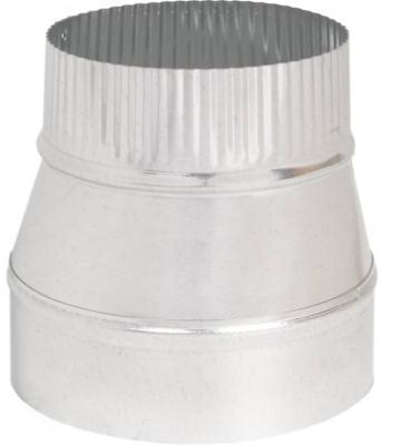 Image of Furnace Taper Reducer, Galvanized, 24-Ga., 6 x 3-In.