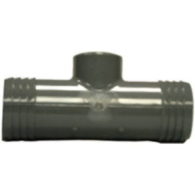 Pipe Fitting Insert Tee, Female, Iron, 1-1/2 x 1-1/2 x 3/4-In.