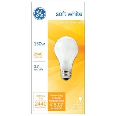Image of 150-Watts Soft White Light Bulb