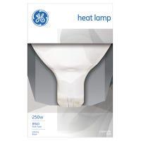 Infrared Heat Reflector Light Bulb, Clear, 250-Watts