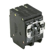 Circuit Breaker, Double Pole, Quadplex, 30 & 40-Amp