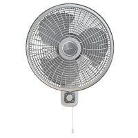 Oscillating Fan, Wall Mount, 16-In.