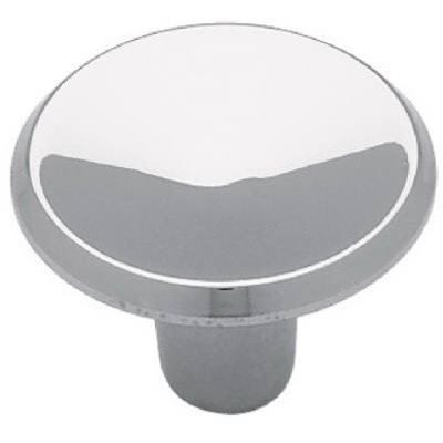 Image of 1-In. Chrome Concave Round Cabinet Knob