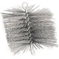 12 x 12-Inch Square Wire Chimney Brush