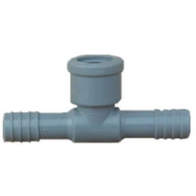 Pipe Fitting, Poly FPT Insert Tee, 1-In.