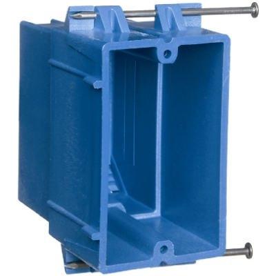 Image of Single Gang Super Blue Hard Body Wiring Box